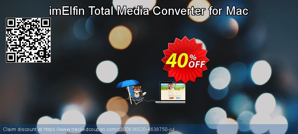 imElfin Total Media Converter for Mac coupon on Happy New Year offering sales