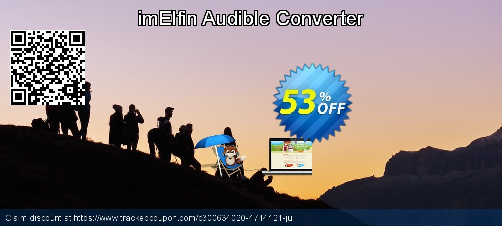 imElfin Audible Converter coupon on New Year's Day deals