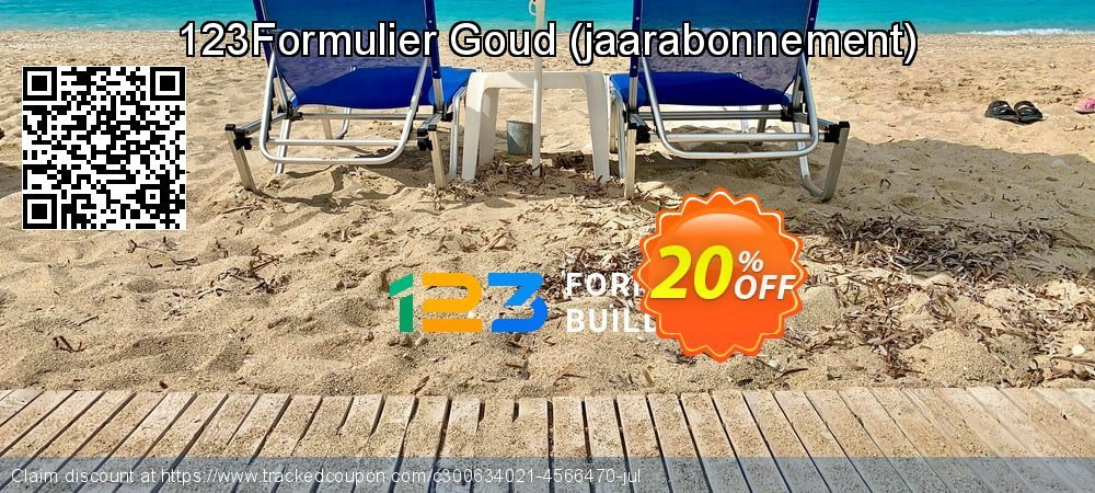 123Formulier Goud - jaarabonnement  coupon on Happy New Year offering sales