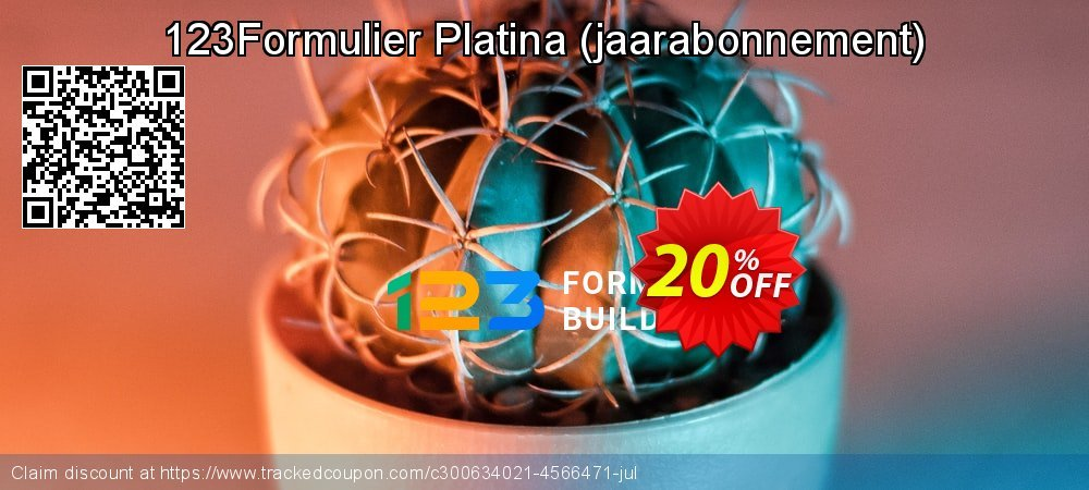 123Formulier Platina - jaarabonnement  coupon on Lunar New Year super sale