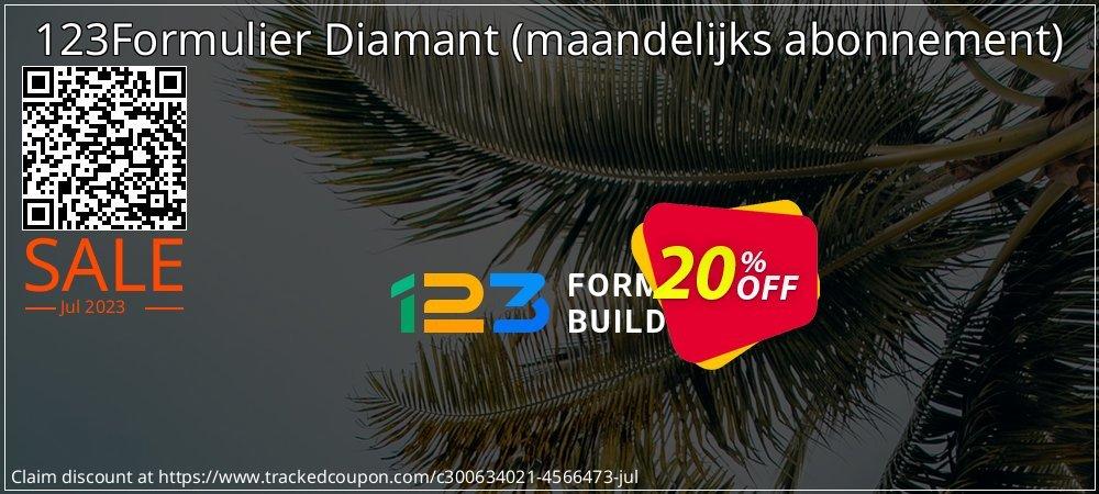 123Formulier Diamant - maandelijks abonnement  coupon on New Year's Day promotions