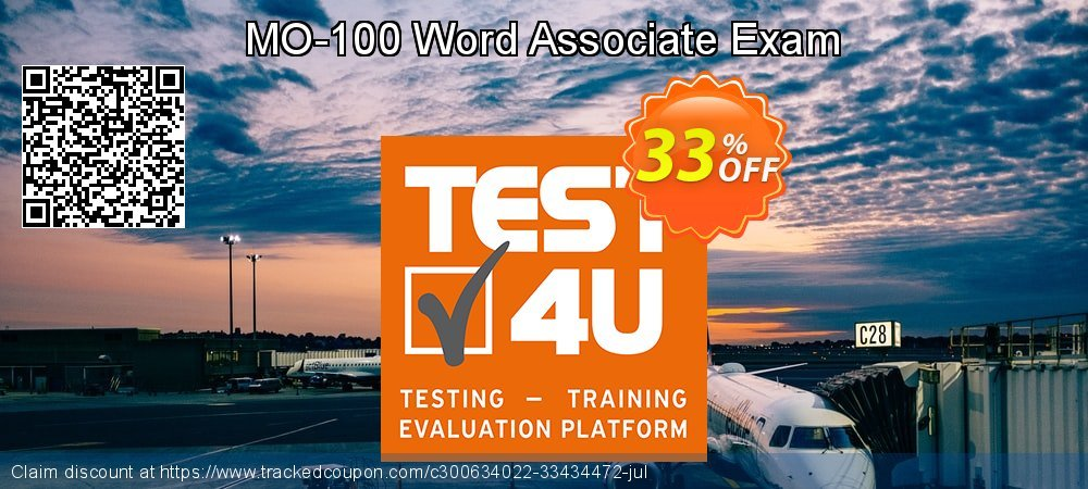 MO-100 Word Associate Exam coupon on New Year offering discount