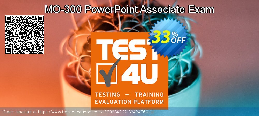 MO-300 PowerPoint Associate Exam coupon on New Year offering discount