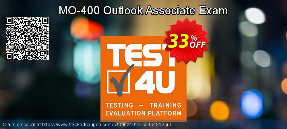 MO-400 Outlook Associate Exam coupon on New Year discount