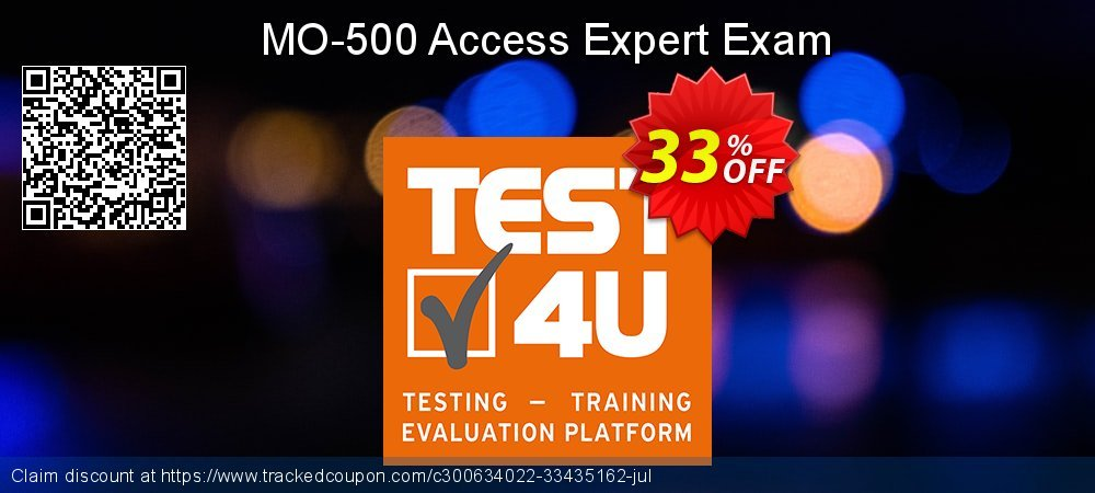 MO-500 Access Expert Exam coupon on Happy New Year deals