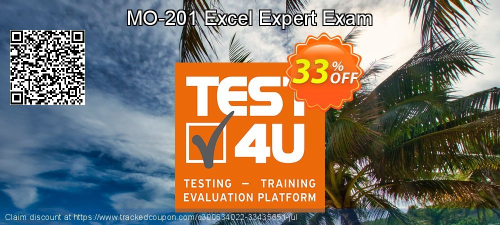MO-201 Excel Expert Exam coupon on Lunar New Year offering discount