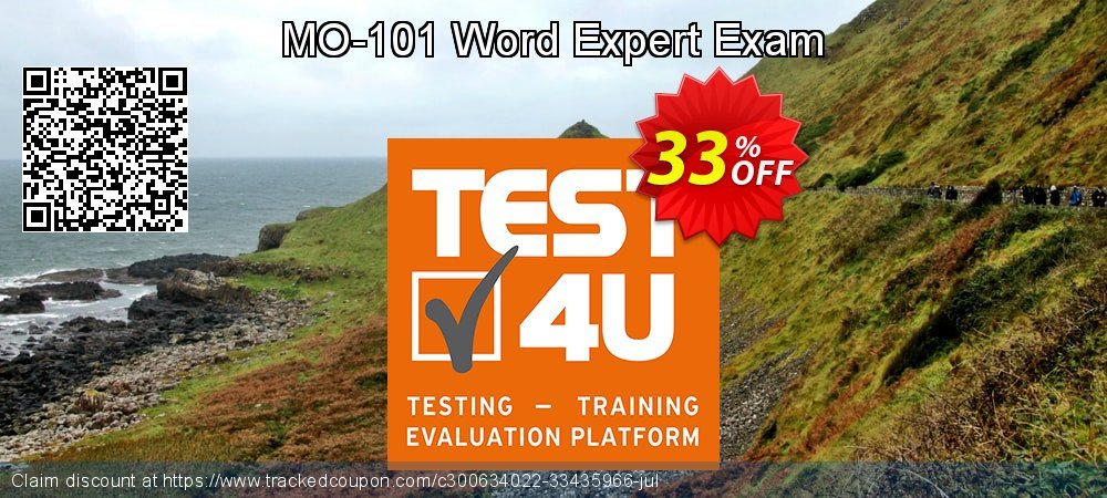 MO-101 Word Expert Exam coupon on Happy New Year offering discount