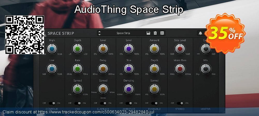 Get 35% OFF AudioThing Space Strip promotions