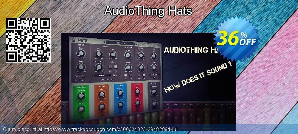 Get 35% OFF AudioThing Hats offering sales