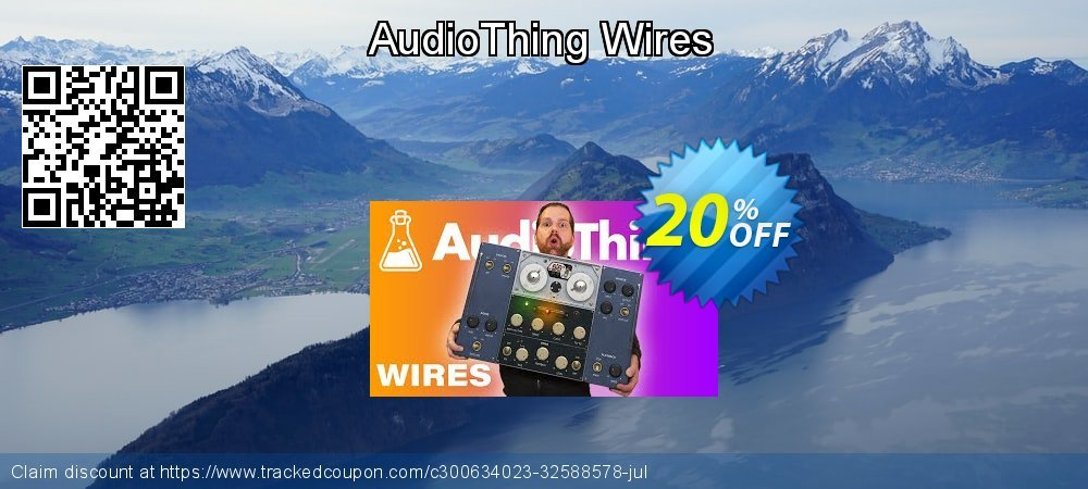 AudioThing Wires coupon on World Day of Music promotions