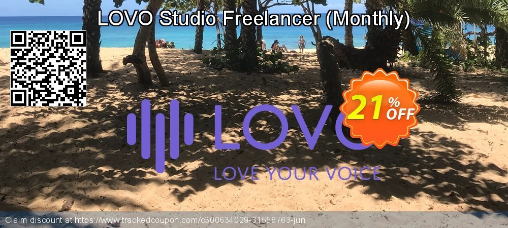 Get 20% OFF LOVO Studio Freelancer (Monthly) promo sales