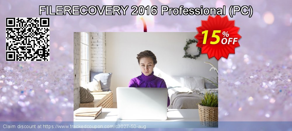 Get 15% OFF FILERECOVERY 2016 Professional (PC) offering sales