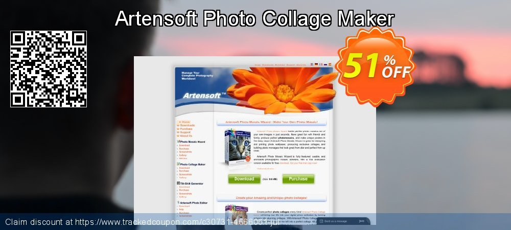 Artensoft Photo Collage Maker coupon on New Year's Day super sale