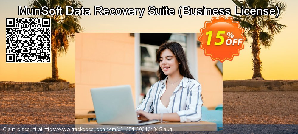 Claim 15% OFF MunSoft Data Recovery Suite - Business License Coupon discount April, 2020