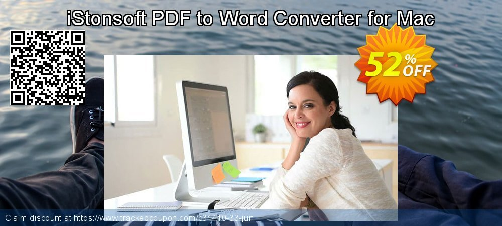 Get 50% OFF iStonsoft PDF to Word Converter for Mac discounts