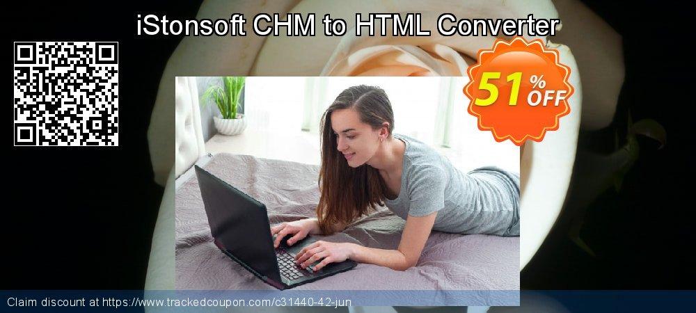 Get 50% OFF iStonsoft CHM to HTML Converter offering deals