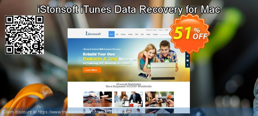 Claim 60% OFF iStonsoft iTunes Data Recovery for Mac Coupon discount July, 2019