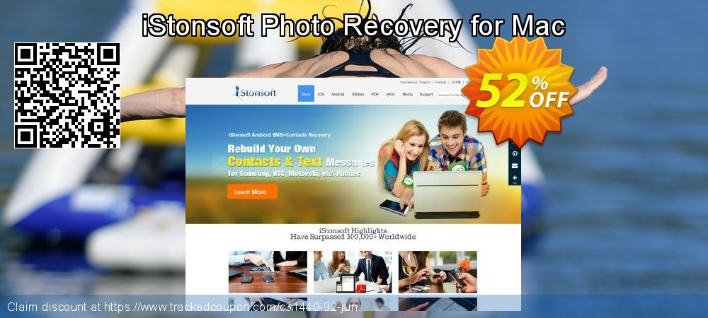 Get 60% OFF iStonsoft Photo Recovery for Mac offering sales
