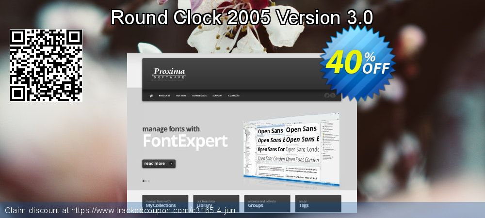 Get 40% OFF Round Clock 2005 Version 3.0 offer