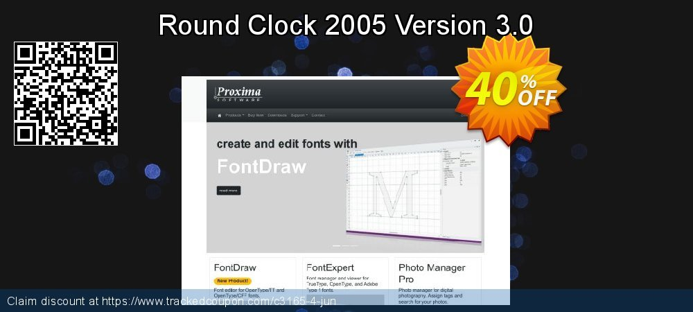 Round Clock 2005 Version 3.0 coupon on Happy New Year sales