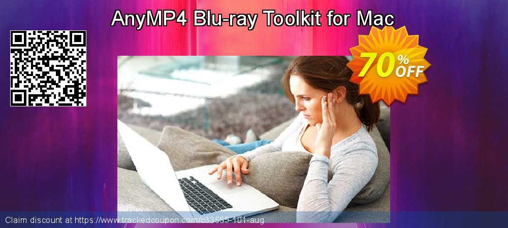 AnyMP4 Blu-ray Toolkit for Mac coupon on  Lover's Day offering sales