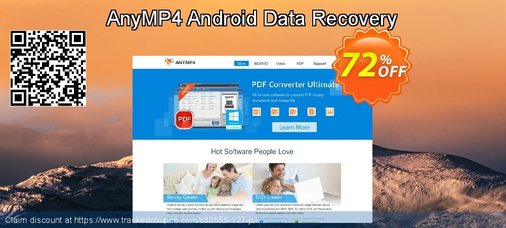 AnyMP4 Android Data Recovery coupon on Black Friday offering discount