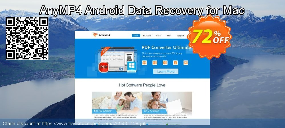 Claim 40% OFF AnyMP4 Android Data Recovery for Mac Coupon discount June, 2019