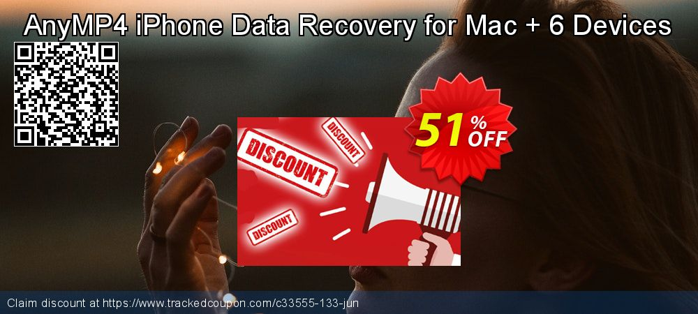Claim 40% OFF AnyMP4 iPhone Data Recovery for Mac + 6 Devices Coupon discount June, 2019