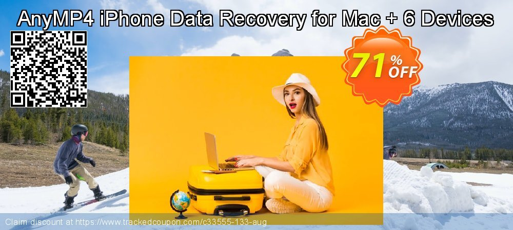 AnyMP4 iPhone Data Recovery for Mac + 6 Devices coupon on Valentines Day deals