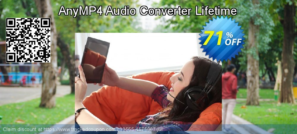 AnyMP4 Audio Converter Lifetime coupon on Read Across America Day offer