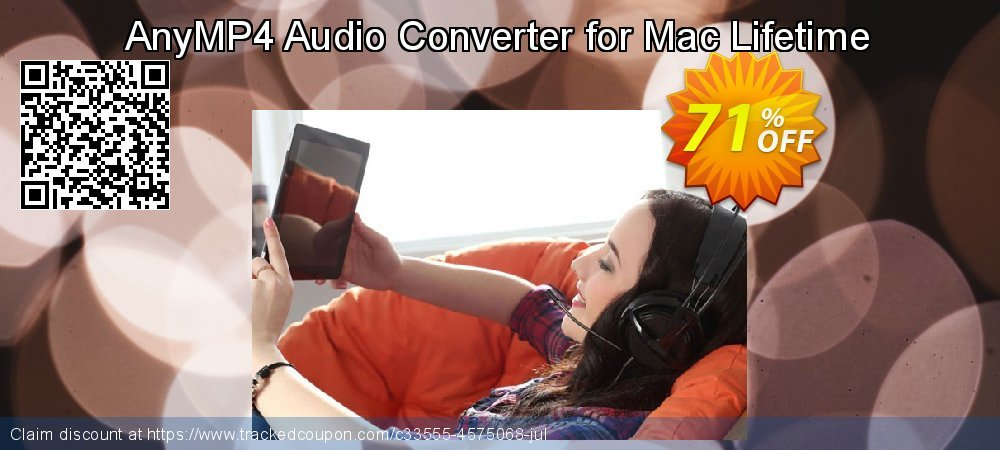 AnyMP4 Audio Converter for Mac Lifetime coupon on Natl. Doctors' Day discount