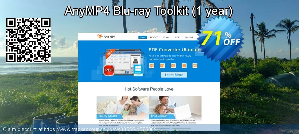 AnyMP4 Blu-ray Toolkit - 1 year  coupon on Int'l. Women's Day offering discount