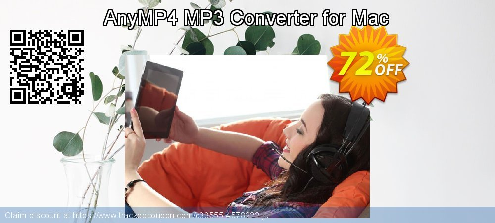AnyMP4 MP3 Converter for Mac coupon on Int'l. Women's Day discounts