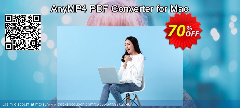 AnyMP4 PDF Converter for Mac coupon on  Lover's Day offering discount