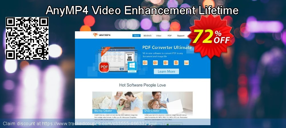 AnyMP4 Video Enhancement Lifetime coupon on Valentines Day promotions