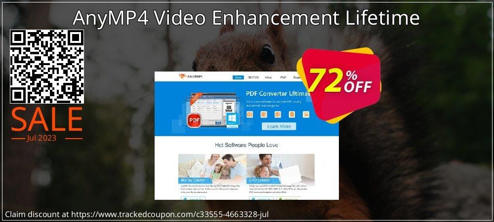 Get 40% OFF AnyMP4 Video Enhancement Lifetime promo sales