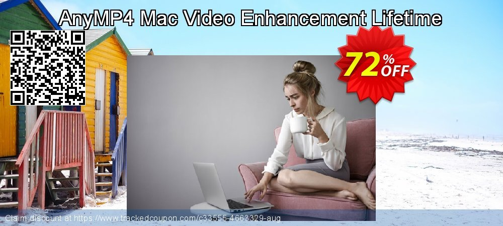 AnyMP4 Mac Video Enhancement Lifetime coupon on Int'l. Women's Day deals