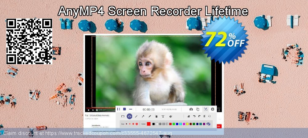 AnyMP4 Screen Recorder Lifetime coupon on Super bowl offer