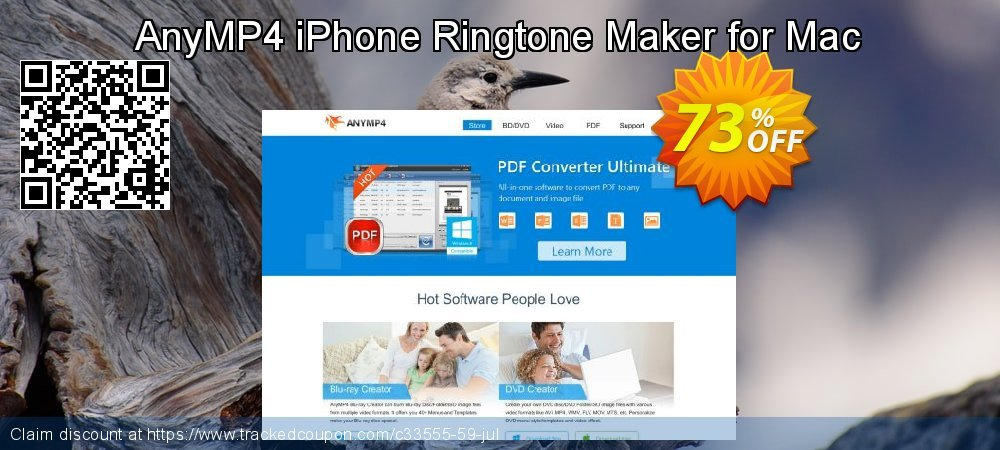 AnyMP4 iPhone Ringtone Maker for Mac coupon on Natl. Doctors' Day sales