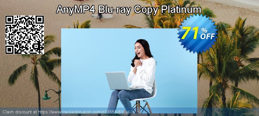 AnyMP4 Blu-ray Copy Platinum - Lifetime coupon on Int'l. Women's Day discounts