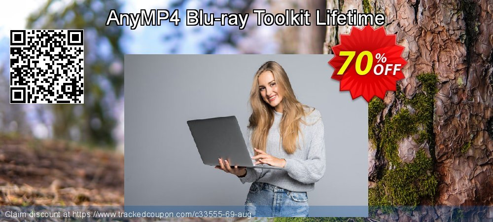 AnyMP4 Blu-ray Toolkit Lifetime coupon on Valentine's Day sales