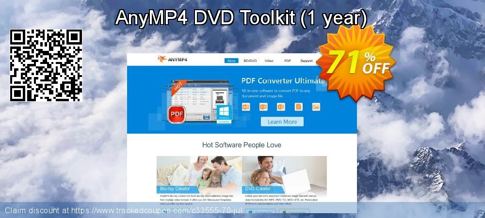 AnyMP4 DVD Toolkit Lifetime coupon on Read Across America Day offering sales