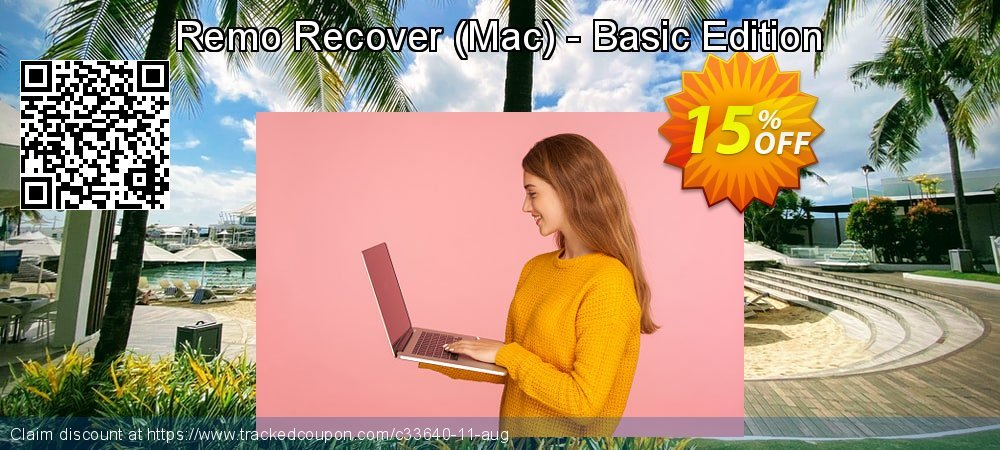 Get 15% OFF Remo Recover (Mac) - Basic Edition offering sales