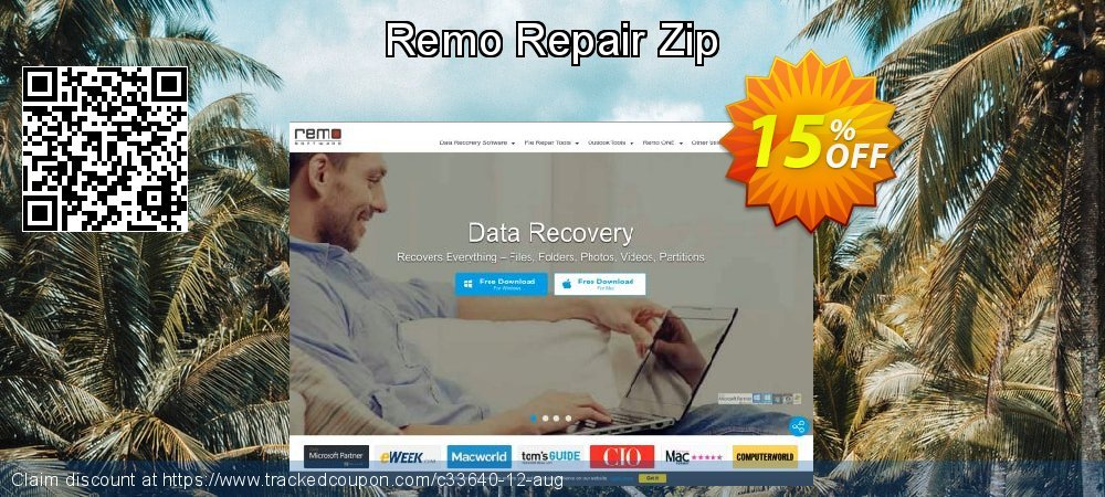 Remo Repair Zip coupon on Thanksgiving deals