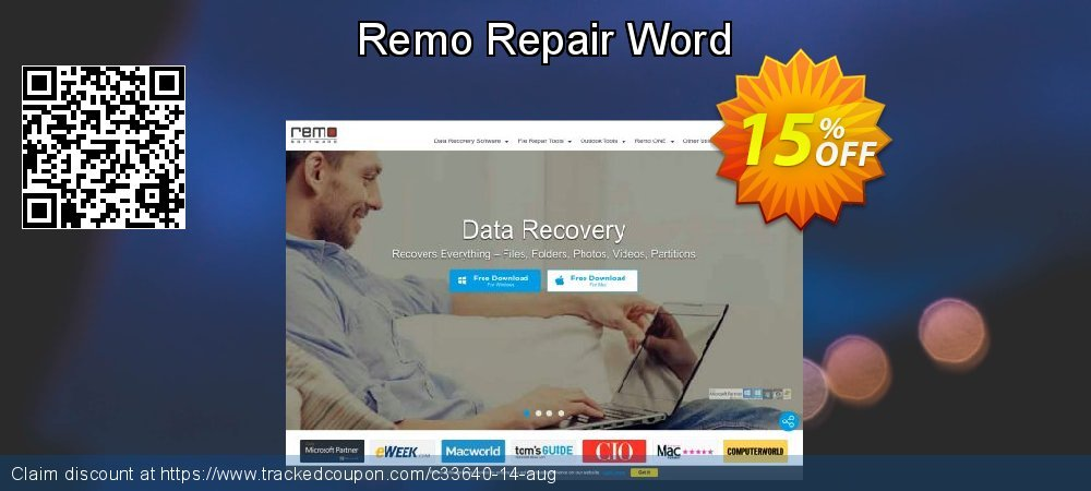 Remo Repair Word coupon on Exclusive Student discount sales