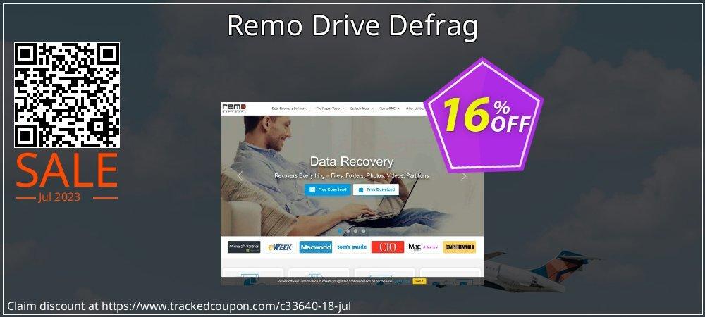 Remo Drive Defrag coupon on Halloween super sale