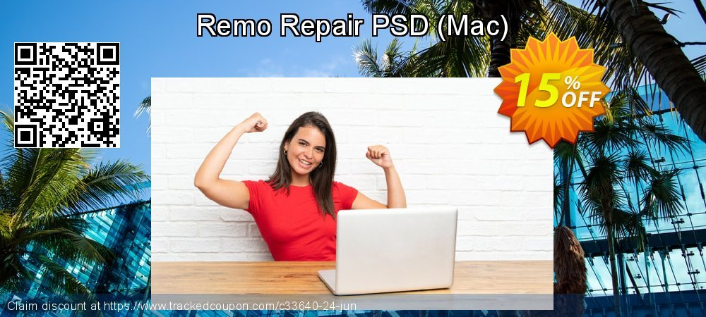 Remo Repair PSD - Mac  coupon on April Fool's Day offering sales