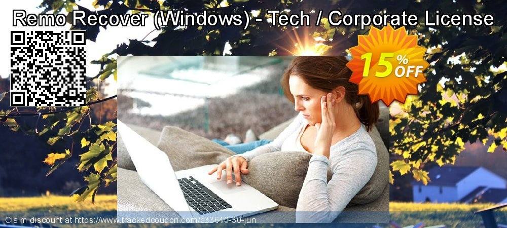 Remo Recover - Windows - Tech / Corporate License coupon on Halloween sales