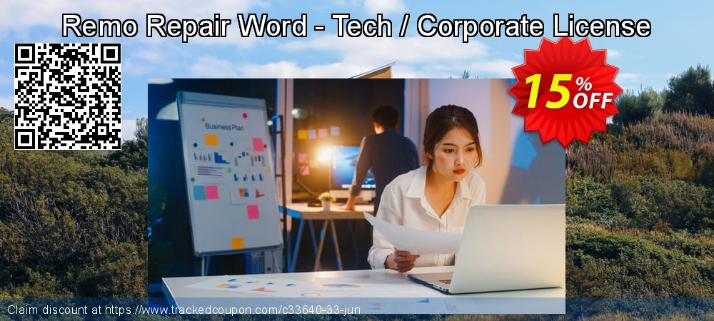 Remo Repair Word - Tech / Corporate License coupon on Halloween discount