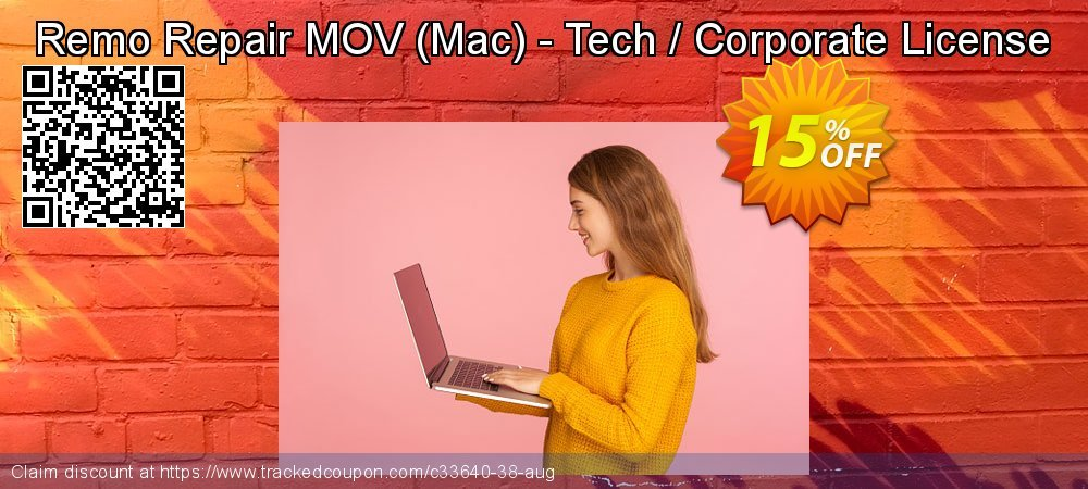 Remo Repair MOV - Mac - Tech / Corporate License coupon on Halloween promotions